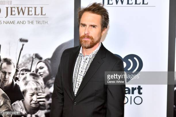 Sam Rockwell attends the Richard Jewell screening at Rialto Center of the Arts on December 10 2019 in Atlanta Georgia