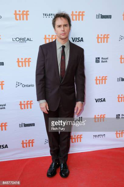Sam Rockwell attends the Three Billboards Outside Ebbing Missouri premiere during the 2017 Toronto International Film Festival at Ryerson Theatre on...