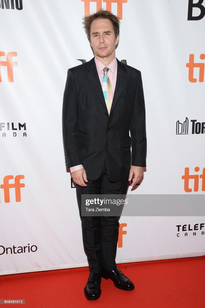 Sam Rockwell attends the 'Woman Walks Ahead' premiere during the 2017 Toronto International Film Festival at Roy Thomson Hall on September 10, 2017 in Toronto, Canada.