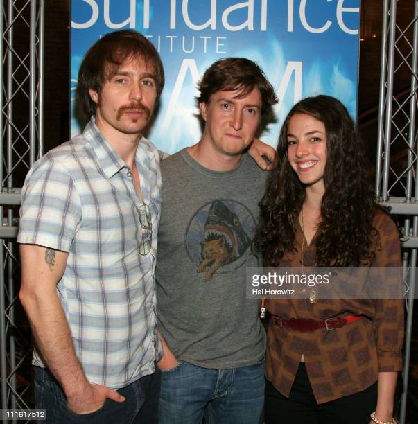 Sam Rockwell David Gordon Green director and Olivia Thirlby