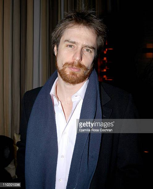Sam Rockwell during 2004 Vail Film Festival Program Launch Party in New York City at The Tribeca Grand Hotel in New York City New York United States