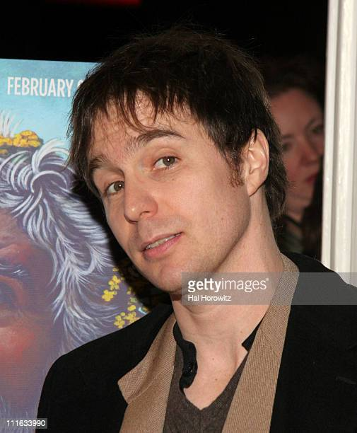Sam Rockwell during 'King Lear' New York City Opening Night Red Carpet at The Public Theater in New York City New York United States
