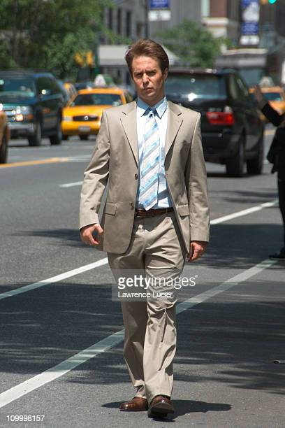 Sam Rockwell during Sam Rockwell Sighting New York May 17 2006 at Central Park West in New York City New York United States