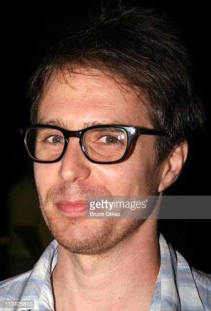 Sam Rockwell during Shakespeare in the Park's 'Mother Courage And Her Children' Opening Night After Party Arrivals at The Belvedere Castle Central...