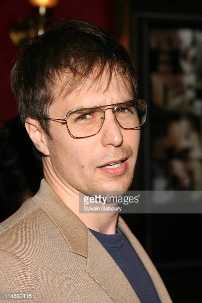 Sam Rockwell during 'The Departed' New York Premiere at Ziegfeld Theater in New York NY United States