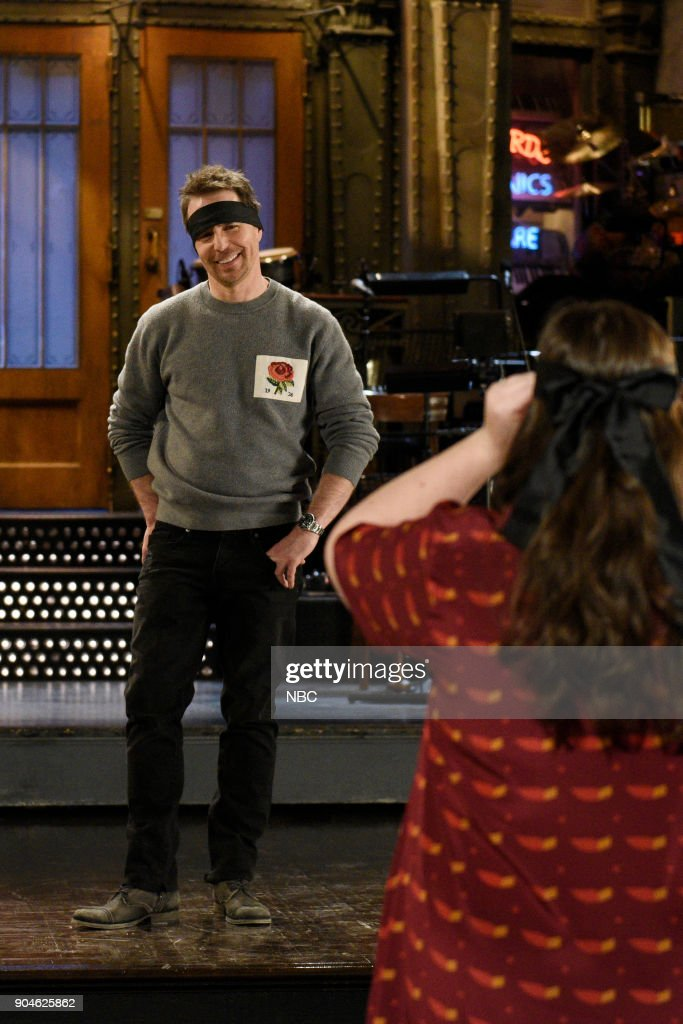 "NBC's ""Saturday Night Live"" - Sam Rockwell, Halsey"
