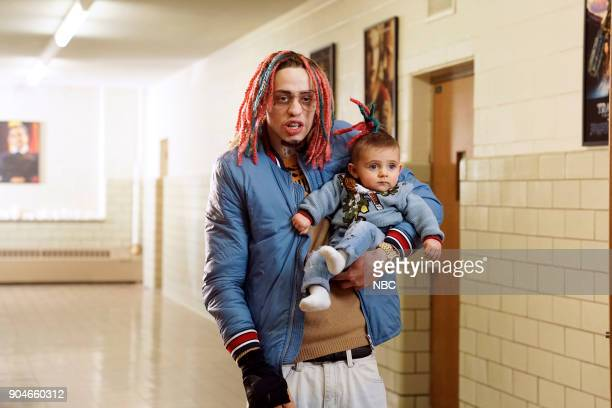 LIVE Sam Rockwell Episode 1735 Pictured Pete Davidson during Lil Pump on Saturday January 13 2018