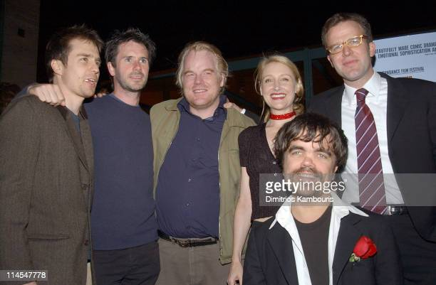 Sam Rockwell Josh Hamilton Philip Seymour Hoffman Patricia Clarkson Peter Dinklage and Director Tom McCarthy
