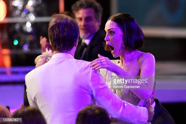 """Sam Rockwell wins the Male Actor in a TV Movie or Limited Series award for """"Fosse/Verdon"""" during the 26th Annual Screen ActorsGuild Awards at The..."""