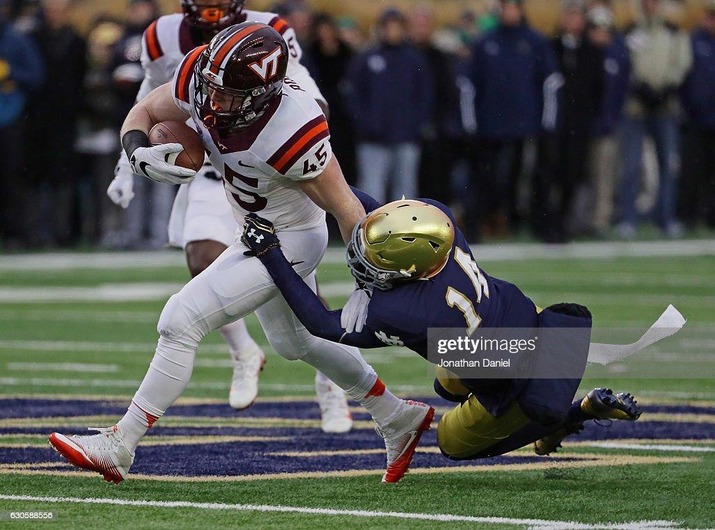 Virginia Tech v Notre Dame : News Photo