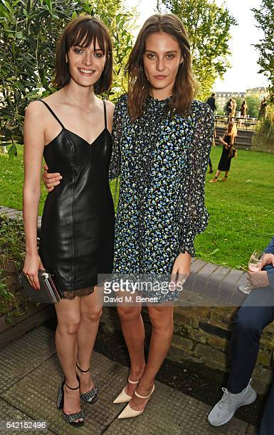 Sam Rollinson and Charlotte Wiggins attend a private dinner hosted by Michael Kors to celebrate the new Regent Street Flagship store opening at The...