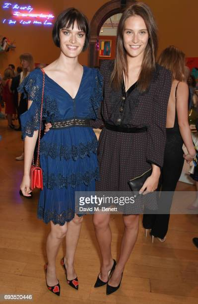 Sam Rollinson and Charlotte Wiggins attend the Royal Academy Of Arts Summer Exhibition preview party at Royal Academy of Arts on June 7 2017 in...