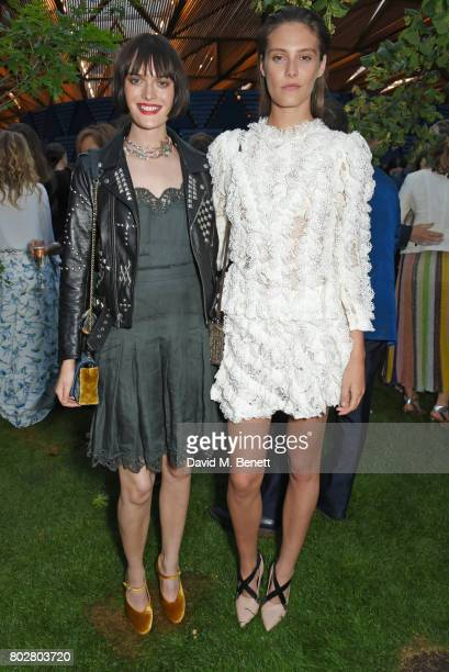 Sam Rollinson and Charlotte Wiggins attend The Serpentine Galleries Summer Party cohosted by Chanel at The Serpentine Gallery on June 28 2017 in...