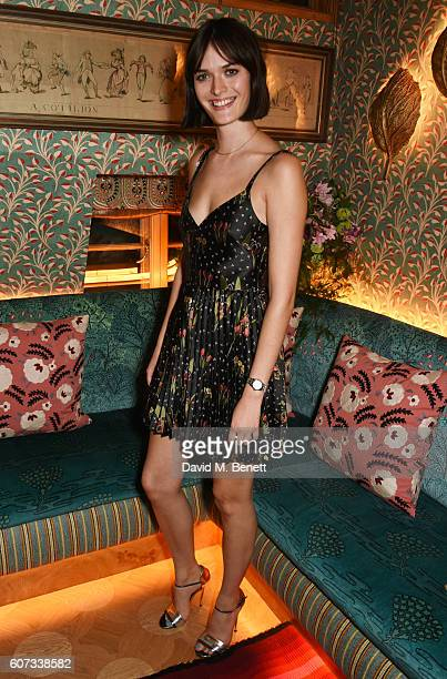 Sam Rollinson attends as RED Valentino hosts a private dinner to celebrate the opening of their first London flagship store during LFW on September...