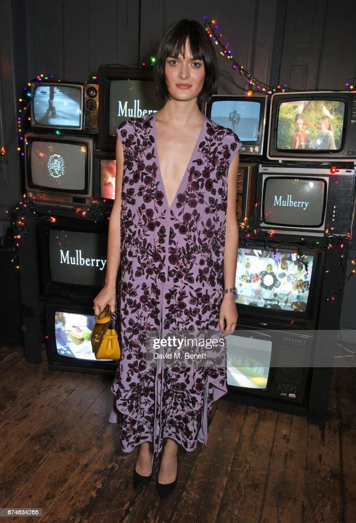 Sam Rollinson attends Mulberry's 'It's Not Quite Christmas' party on November 15, 2017 in London, England.
