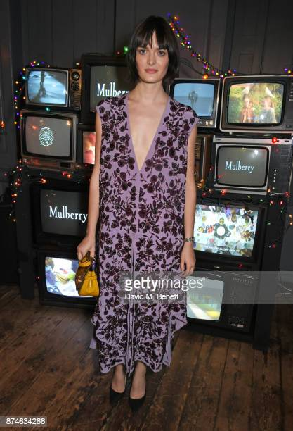 Sam Rollinson attends Mulberry's 'It's Not Quite Christmas' party on November 15 2017 in London England