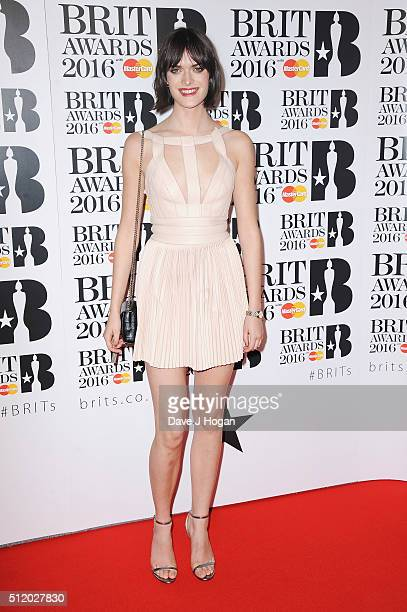 Sam Rollinson attends the BRIT Awards 2016 at The O2 Arena on February 24 2016 in London England