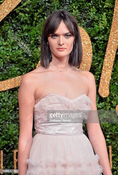 Sam Rollinson attends the British Fashion Awards 2015 at London Coliseum on November 23 2015 in London England