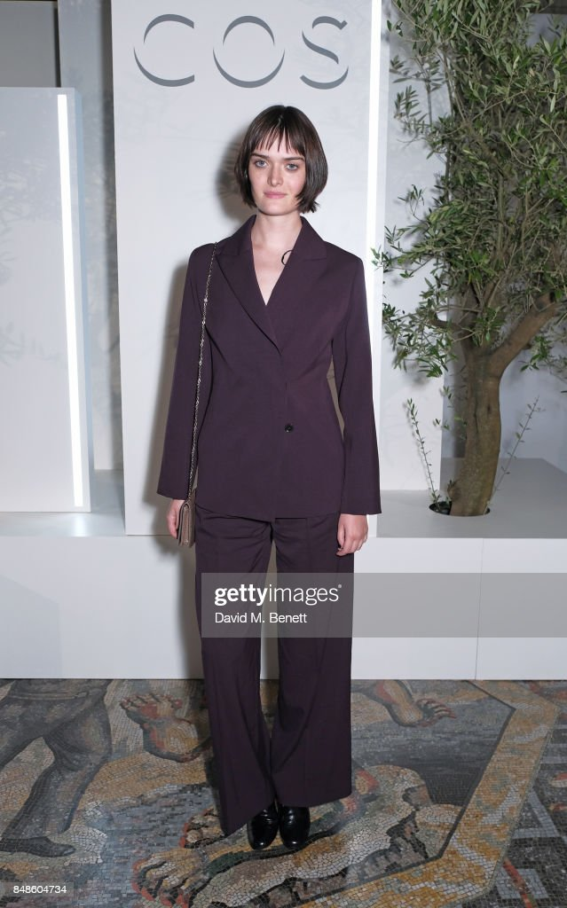 Sam Rollinson attends the COS 10 year anniversary party at The National Gallery on September 17, 2017 in London, England.