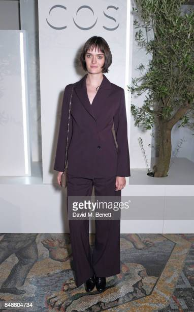 Sam Rollinson attends the COS 10 year anniversary party at The National Gallery on September 17 2017 in London England