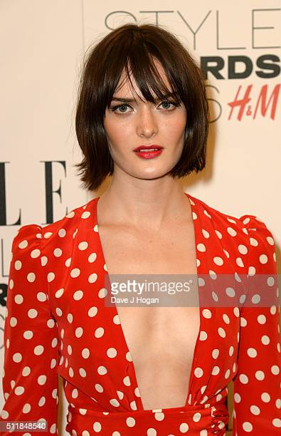 Sam Rollinson attends The Elle Style Awards 2016 on February 23 2016 in London England