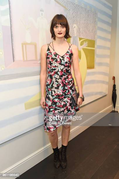 Sam Rollinson attends the House Of Osman launch party supported by Peroni Ambra on April 25 2018 in London England