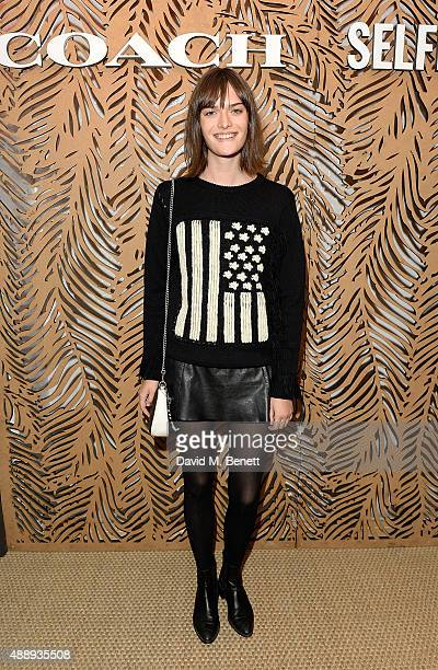 Sam Rollinson attends the launch of Coach at Selfridges hosted by Stuart Vevers at Selfridges on September 18 2015 in London England