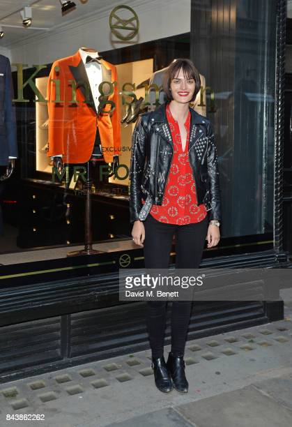 Sam Rollinson attends the launch of the 'Kingsman' shop on St James's Street in partnership with MR PORTER MARV Twentieth Century Fox in celebration...