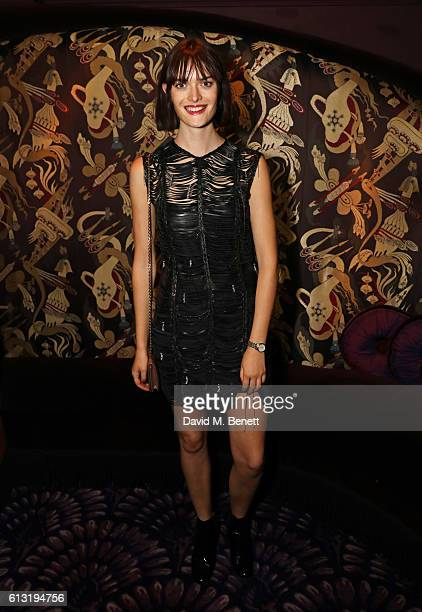 Sam Rollinson attends the Moncler 'Freeze For Frieze' Dinner Party at Park Chinois on October 7 2016 in London United Kingdom