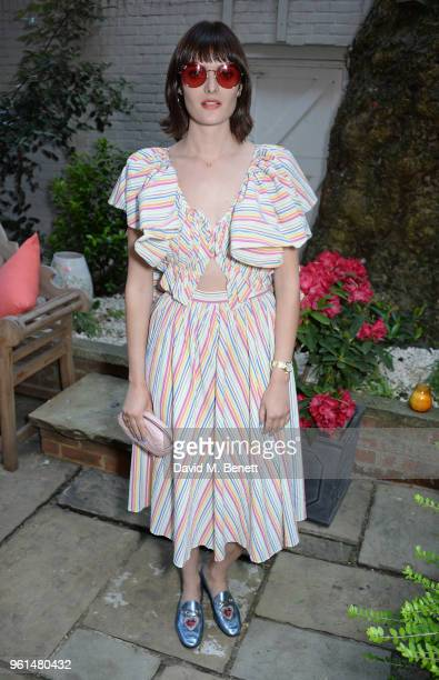 Sam Rollinson attends the NETAPORTER dinner hosted by Alison Loehnis to celebrate the launch of Rosie Assoulin's exclusive collection on May 22 2018...