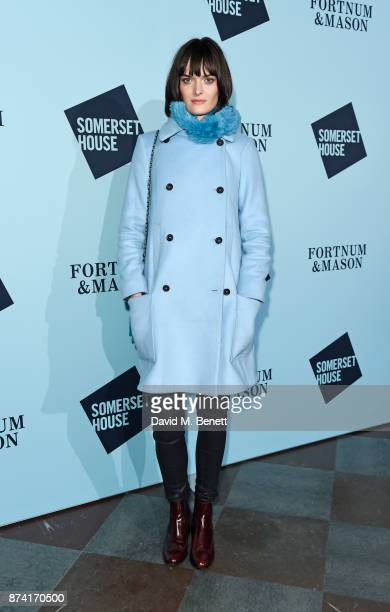 Sam Rollinson attends the opening party of Skate at Somerset House with Fortnum Mason on November 14 2017 in London England London's favourite...