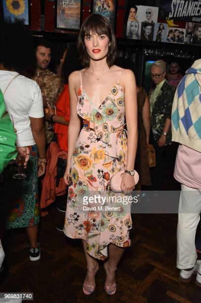 Sam Rollinson attends the TOPMAN LFWM party during London Fashion Week Men's June 2018 at the Phoenix Artist Club on June 8 2018 in London England