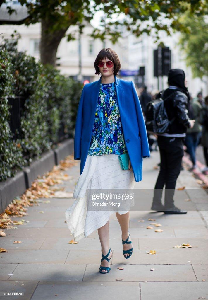 Street Style: Day 4 - LFW September 2017 : News Photo