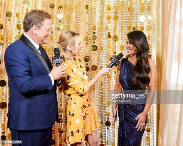 Sam Rubin and Jessica Holmes interview Sandra Lee MD Dr Pimple Popper at Critics' Choice Real TV Awards KTLA Interviews with Sam Rubin on June 02...