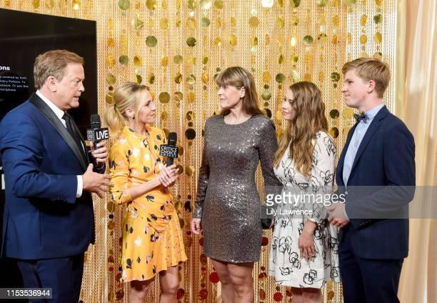 Sam Rubin and Jessica Holmes interview Terry Irwin, Bindi Irwin and Robert Irwin at Critics' Choice Real TV Awards,KTLA Interviews with Sam Rubin on...