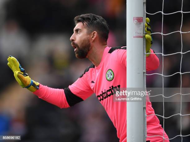 Sam Russell of Forest Green Rovers looks on during the Sky Bet League Two match between Notts County and Forest Green Rovers at Meadow Lane on...