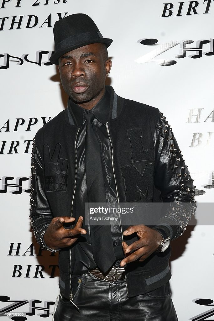 Sam Sarpong attends Zhavea's 21st Birthday Bash At A Private Mansion In Hollywood event on January 19, 2013 in Hollywood, California.
