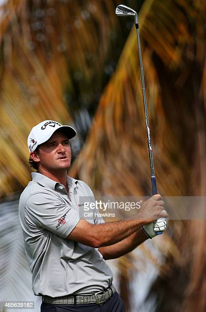 Sam Saunders plays his shot from the 17th tee during the final round of the Puerto Rico Open presented by Banco Popular on March 8 2015 in Rio Grande...