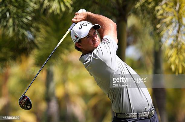 Sam Saunders plays his shot from the second tee during the final round of the Puerto Rico Open presented by Banco Popular on March 8 2015 in Rio...