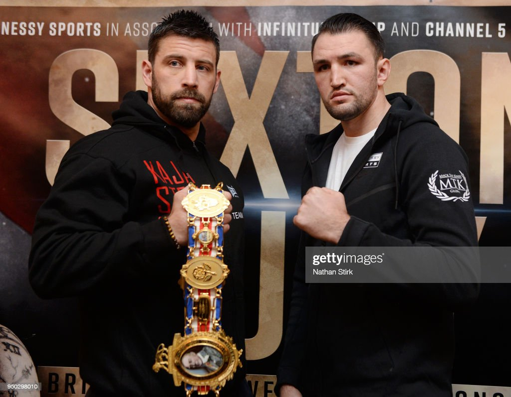 Sam Sexton and Hughie Fury Press Conference