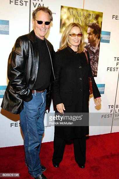 Sam Shepard and Jessica Lange attend The Fifth Annual Tribeca Film Festival WALKER PAYNE Arrivals at Tribeca Performing Arts Center on April 26 2006...
