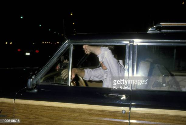 Sam Shepard during Sam Shepard Sighting on Sunset Boulevard in Hollywood CA March 3 1986 at Sunset Boulevard in Hollywood California United States