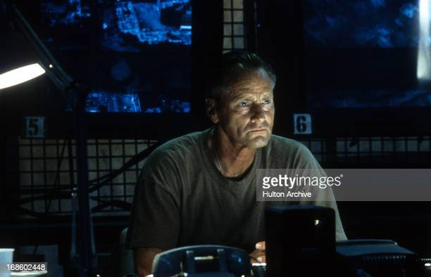 Sam Shepard in a stare in a scene from the film 'Black Hawk Down' 2001