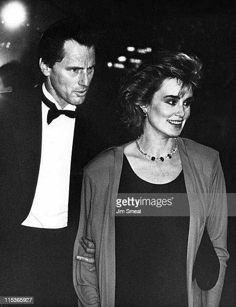 Sam Shepherd and Jessica Lange during American Film Institute Tribute To Billy Wilder March 8 1986 at Beverly Hilton Hotel in Beverly Hills...