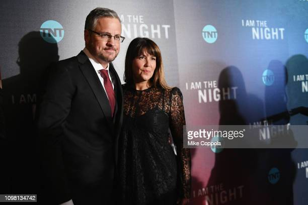 Sam Sheridan and Patty Jenkins attend the I Am the Night Premiere at Metrograph on January 22 2019 in New York City 484171