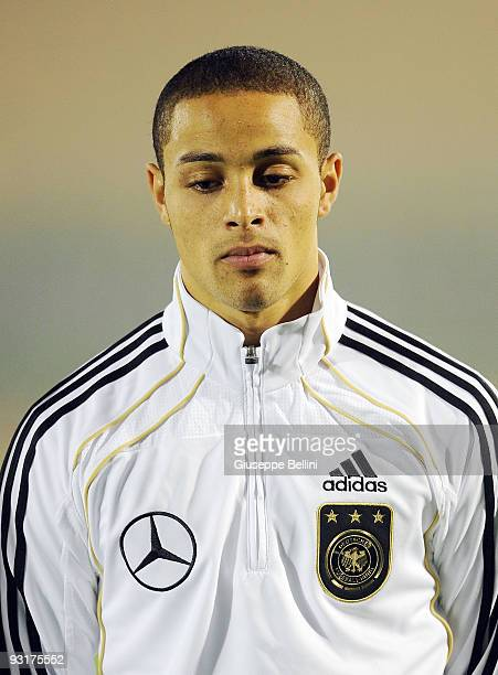 Sam Sidney of Germany before the UEFA Under 21 Championship match between San Marino and Germany at Olimpico stadium on November 17, 2009 in...