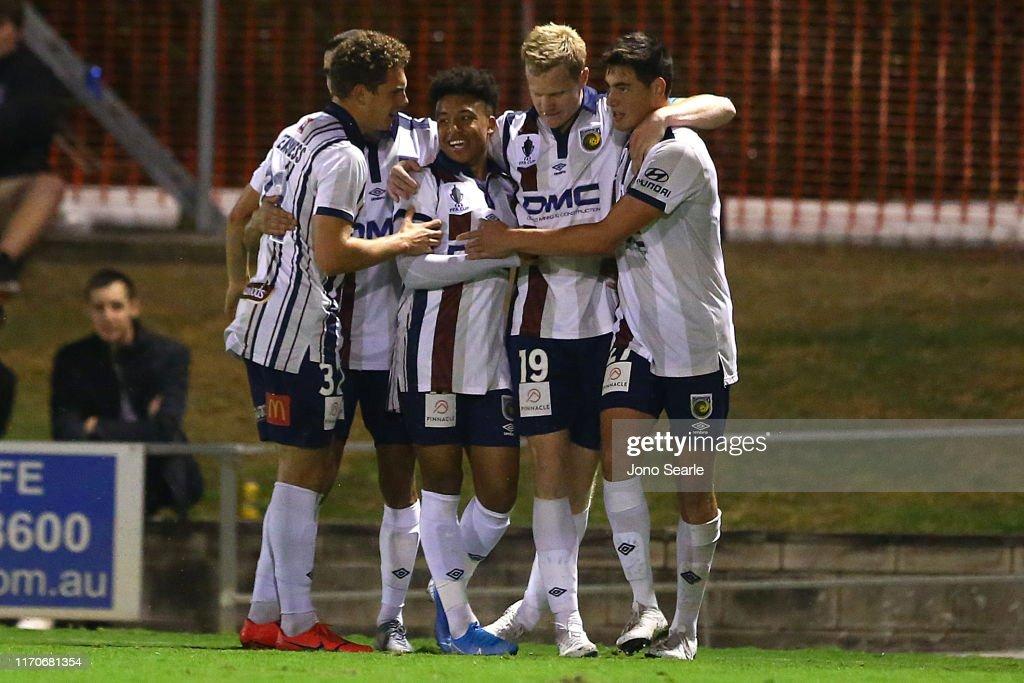 FFA Cup Round of 16 - Brisbane v Central Coast : News Photo