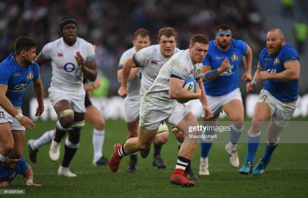 Italy v England - NatWest Six Nations