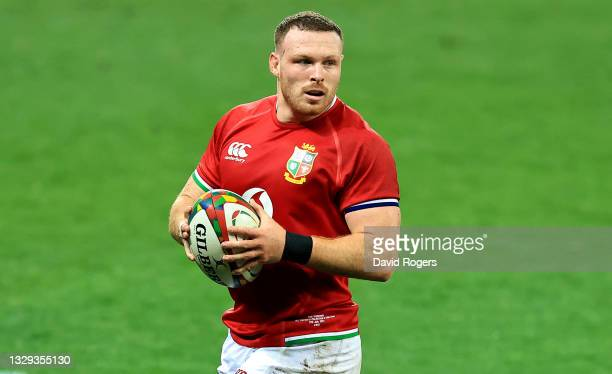 Sam Simmonds of the British & Irish Lions looks on during the match between the DHL Stormers and the British & Irish Lions at Cape Town Stadium on...