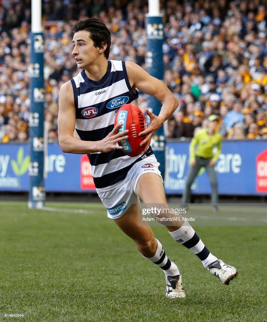 AFL Rd 17 - Geelong v Hawthorn : News Photo